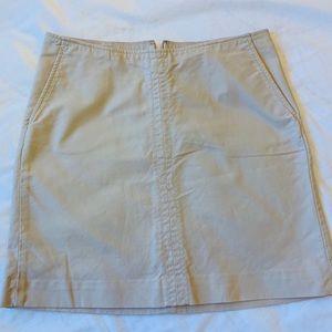 Banana Republic Casual Cotton Stretch Skirt